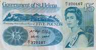 St. Helena 5 Pounds front
